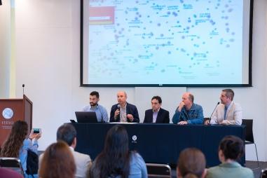 Isaías Guevara, Alberto García Ruvalcaba, Ángel Cancino, Augusto Valencia y Óscar Castro 2